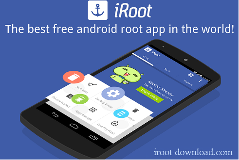 iRoot Android screenshot